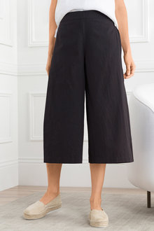 Grace Hill Wide Leg Cotton Pant