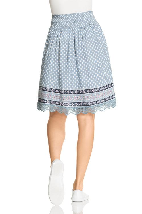 Emerge Lace Trim Skirt