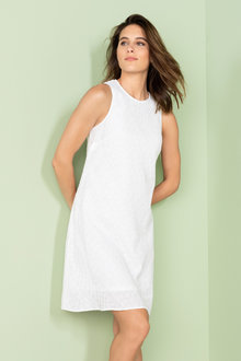 Emerge Broidery Swing Dress