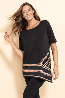 Plus Size - Sara Asymmetric Top