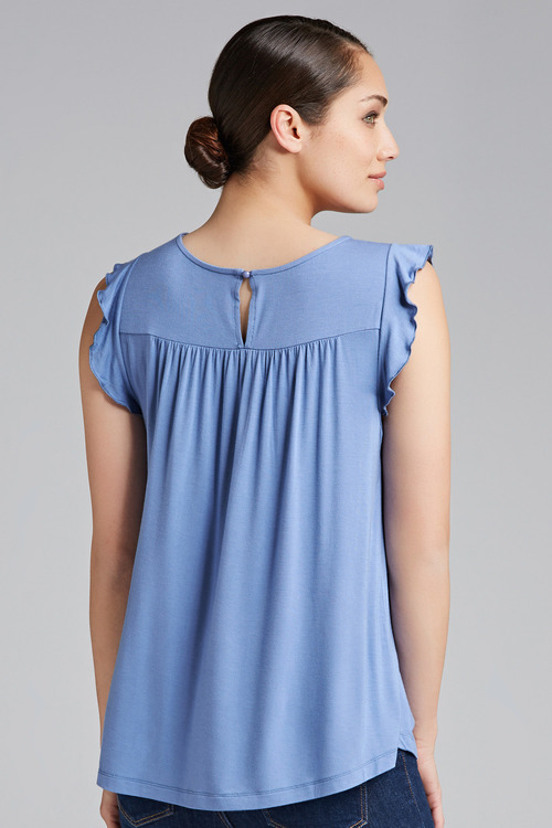 Capture Flutter Sleeve Tee
