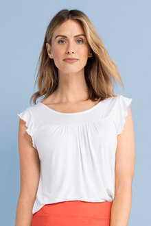 Capture Flutter Sleeve Tee - 214141