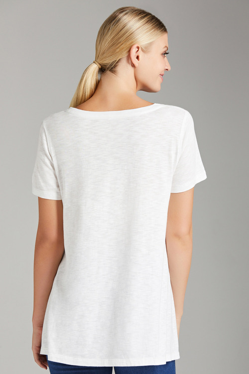 Capture Hem Detail Tee