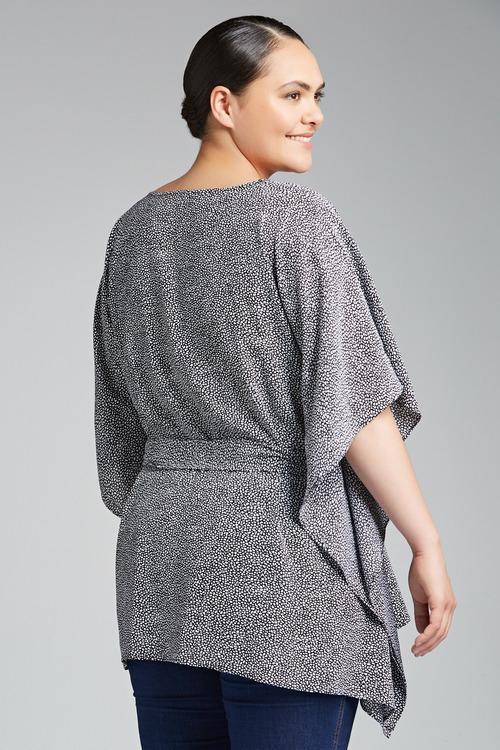 Plus Size - Sara Tie Kaftan