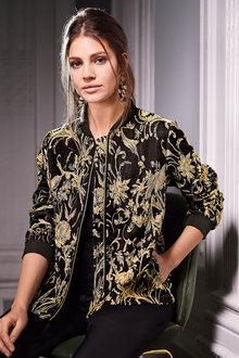 Together Jacquard Bomber