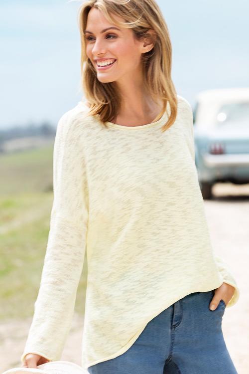 Capture Textured Summer Knit
