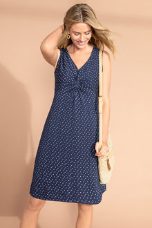 Capture Knot Front VE Dress