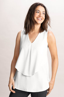 Capture Georgette Layer Tank - 214202