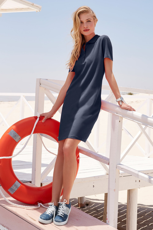 Heine Polo Neck Dress