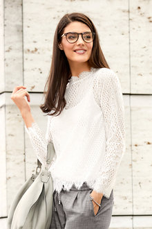 Heine Lace Top with Cami