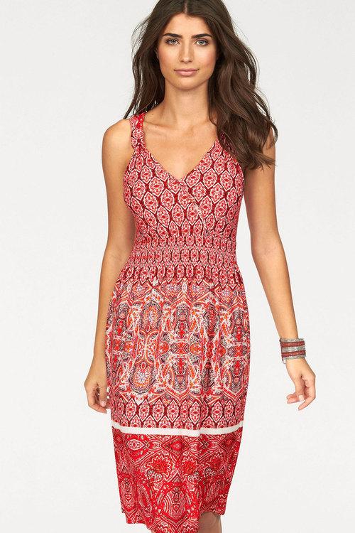 Urban Border Print Dress
