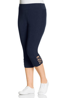 Plus Size - Sara Criss Cross Legging