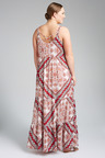 Plus Size - Sara Cross Back Maxi Dress
