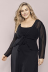 Plus Size - Sara Chiffon Shrug