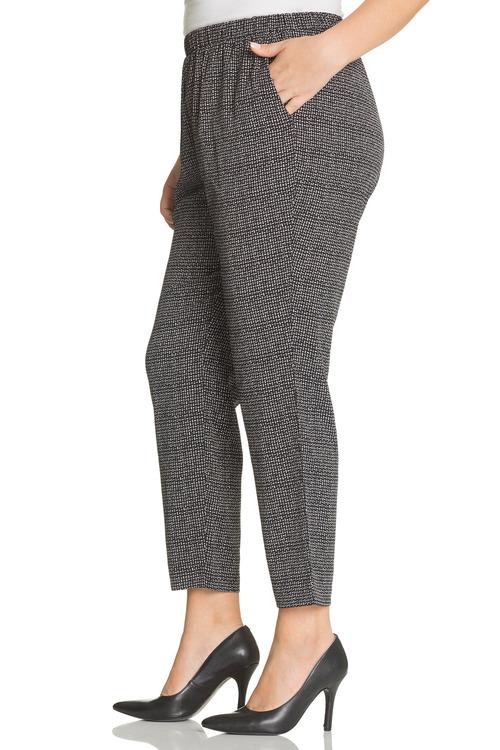 Plus Size - Sara Printed Pants