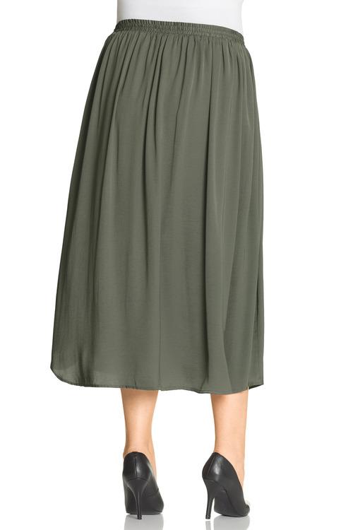 Plus Size - Sara Hammered Skirt