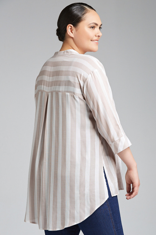 Plus Size - Sara Drop Shoulder Shirt