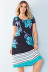 Plus Size - Sara Scoop Neck Dress