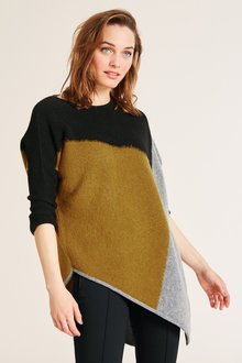 Heine Colour Block Pullover - 214267