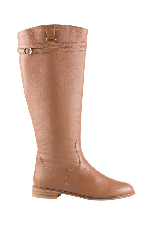 Plus Size - Wide Fit Middleham Leg Boot