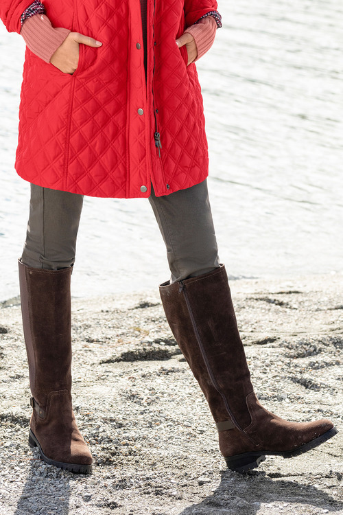 Wide Fit Midhurst Leg Boot