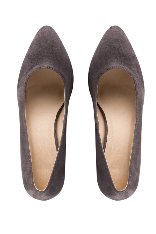Wide Fit Avon Court Heel