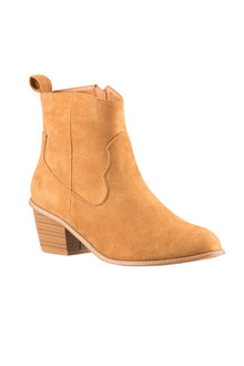 Plus Size - Wide Fit Lerwick Ankle Boot