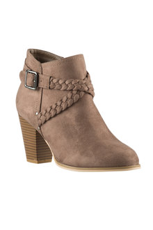 Plus Size - Wide Fit Lydd Ankle Boot