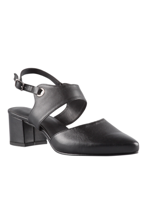 Plus Size - Wide Fit Winslow Court Heel