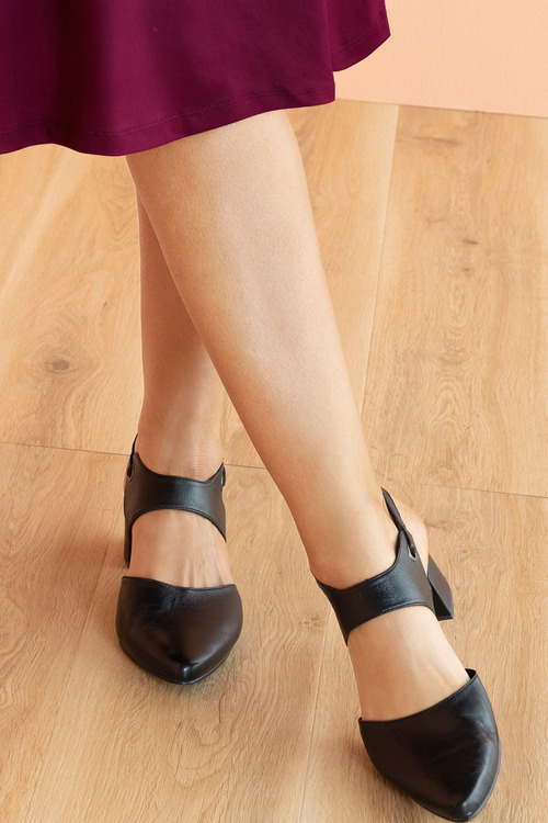 Wide Fit Winslow Court Heel