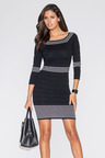 Urban Ribbed Knitwear Dress