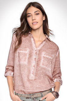 Heine Washed Detail Shirt - 214380