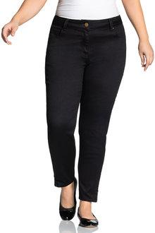 Sara So Slimming Zip Detail Jeans - 214384