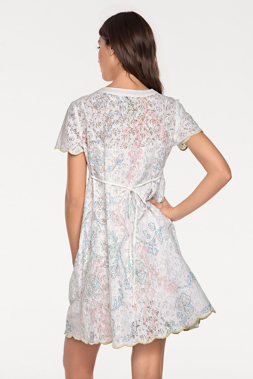 Heine Embroidered Lace Dress