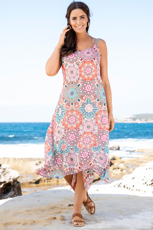 Plus Size - Floaty Dress