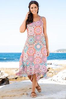 Plus Size - Floaty Dress