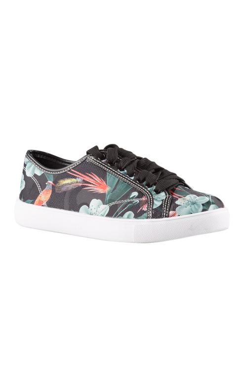 Plus Size - Wide Fit Brackley Sneaker