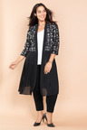 Plus Size - Sara Embroidered Jacket
