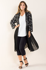Plus Size - Sara Embroidered Jacket