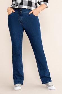 Sara So Slimming Straight Jean - 214446
