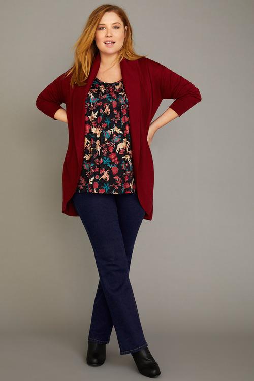 Sara Pull On Bootleg Jean