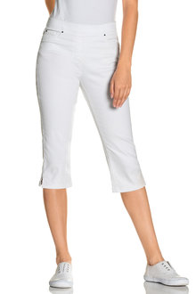 Capture Pull On Crop Jeans - 214470