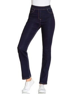 Capture Superstretch Pull On Straight Leg Jean - 214471