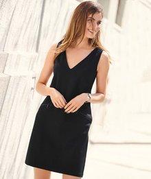 Next Zip Detail Ponte Dress