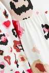 Next Abstract Animal Printed Dress