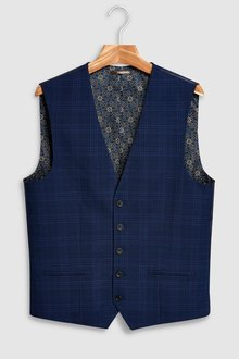 Next Checked Suit: Waistcoat - 214576