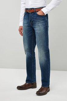 Next Belted Jeans - Loose Fit