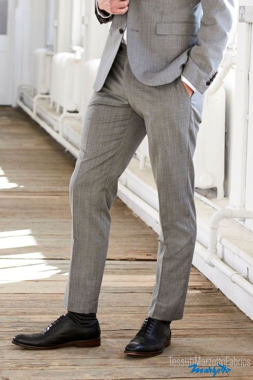 Next Signature Textured Tailored Fit Suit: Trousers - Skinny Fit