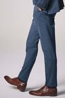 Next Wool Blend Stretch Suit: Trousers - Slim Fit