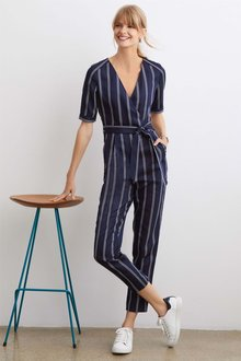 Next Stripe Jumpsuit - Tall